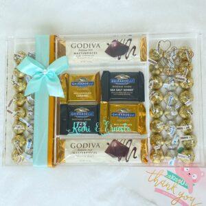 Caja Acrilica de Chocolates