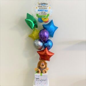 Personalized Bubble Box / 7 Balloons